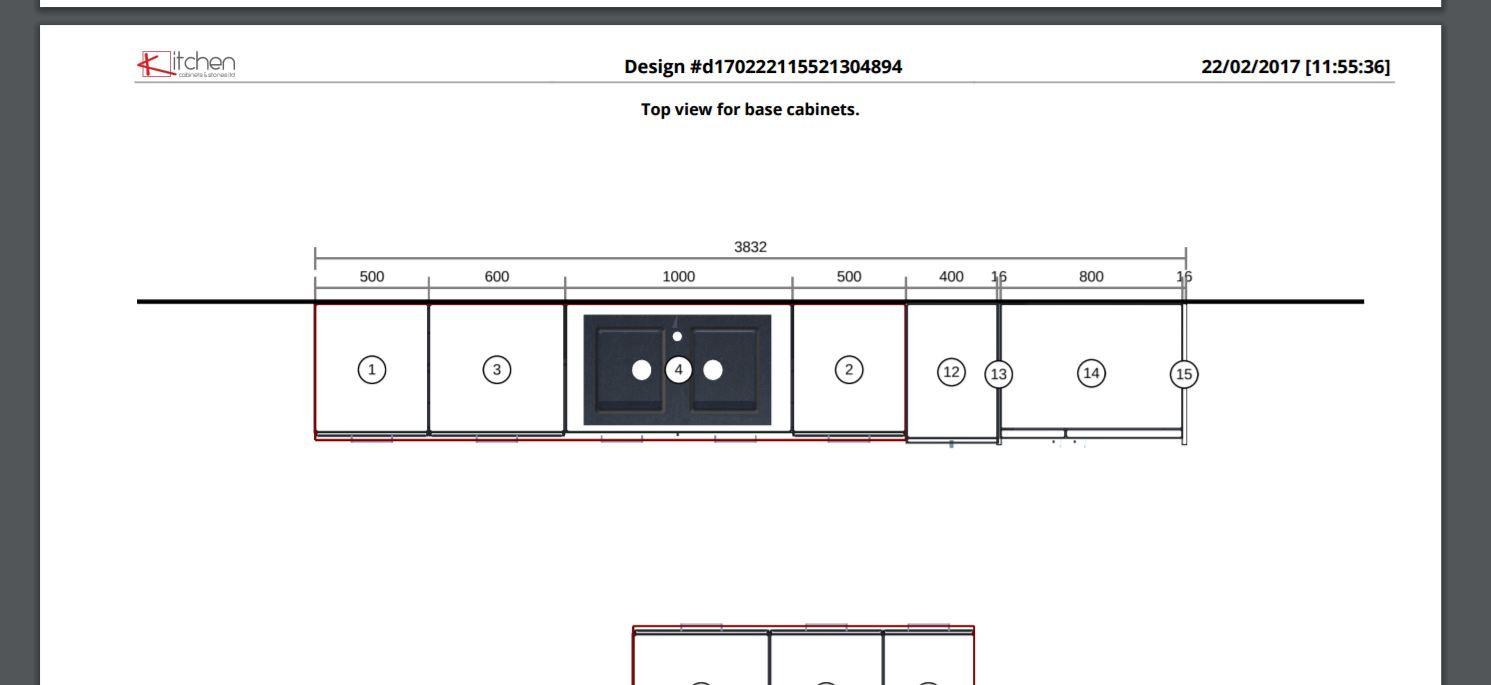 Kitchen 3D Planner Design In PDF Format
