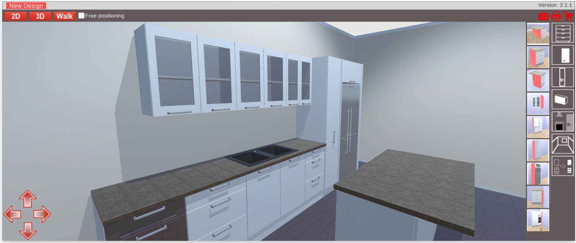 Free 3D Kitchen Planner | Kitchen Cabinets and Stones