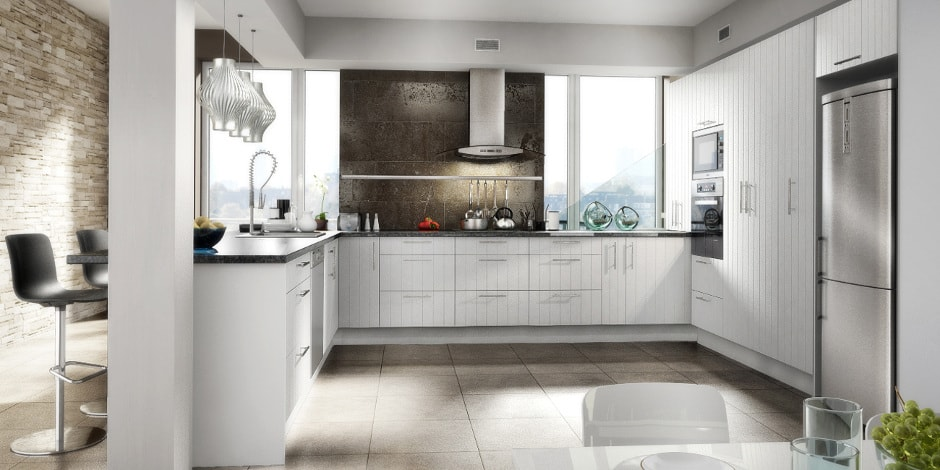 arctic white kicthen sets with wide variety - Kitchen Cabinets Nz