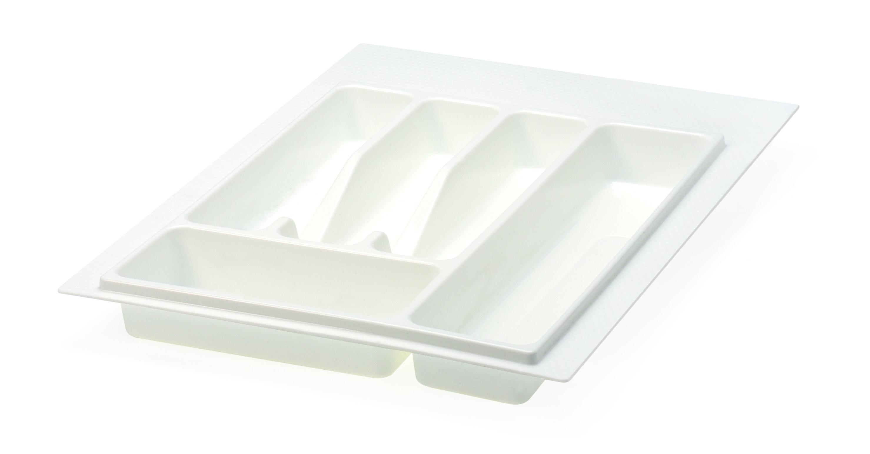 400mm White Matte Cutlery Insert 32\72.N40BI for Kitchen