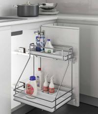 Premier Right-Handed Detergent Basket Insert for 450mm Wide Base