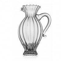 MAITRE PITCHER H. 25,5CM OPTIC CLEAR WITH LINED HANDLE LT.1,3