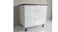 900mm Wide 2 Drawer Sink Base Cabinet S90ZL-A-SZ2A