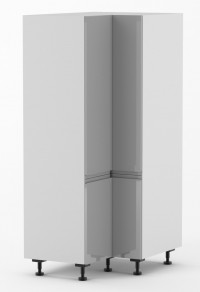 J-Pull - 1050mm by 1050mm wide 90 Degree Double Door Corner Pantr