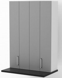 Athens - 900mm wide 350mm Deep On Bench Pantry Cabinet