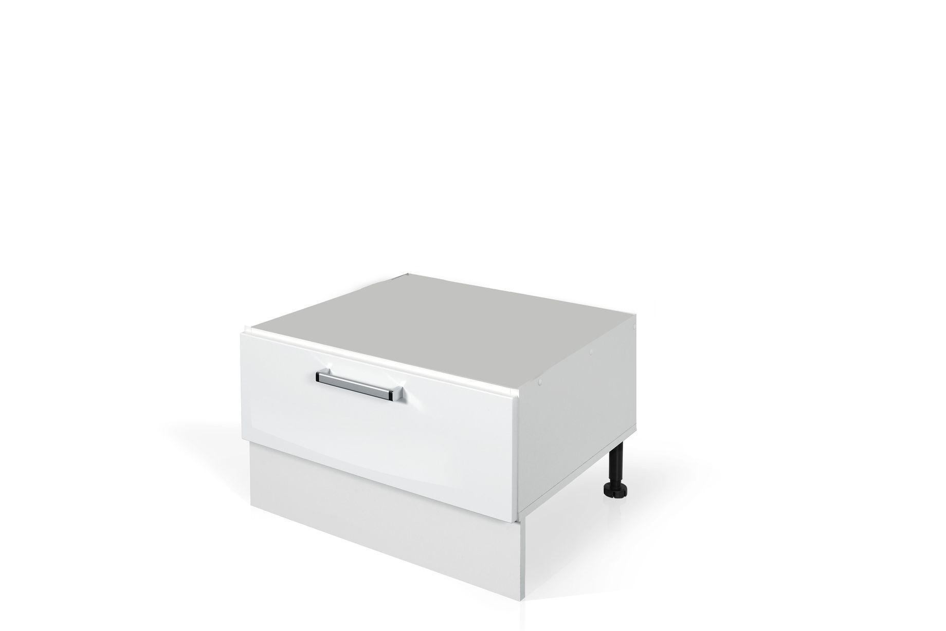High Gloss White Base dishwasher cabinet S60SZ1-442 for kitchen