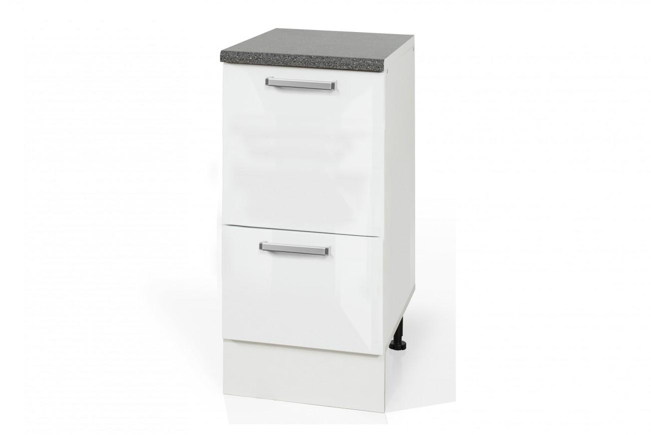 High Gloss White Base rubbish bin cabinet S40SZ1A1KO for kitchen