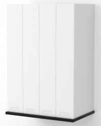 Berlin White Matte Deep On Bench Pantry Cabinet 900mm