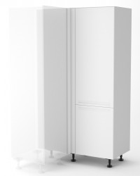 Berlin White Blind Corner Pantry Cabinet 1150mm (Tall Cabinet