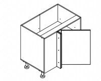 Body Diagram for Corner cabinet S90NP