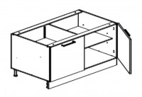 Body Diagram for Base cabinet S120