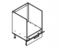Body Diagram for Base oven cabinet S60KU for Kitchen