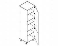 Body Diagram for Pantry S60/222/60/2D