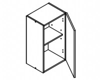 Body Diagram for Wall cabinet W40