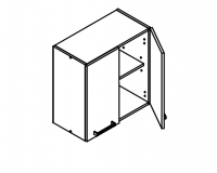 Short Wall Cabinet Body Diagram for Kitchen