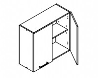 Body Diagram for Wall cabinet W80