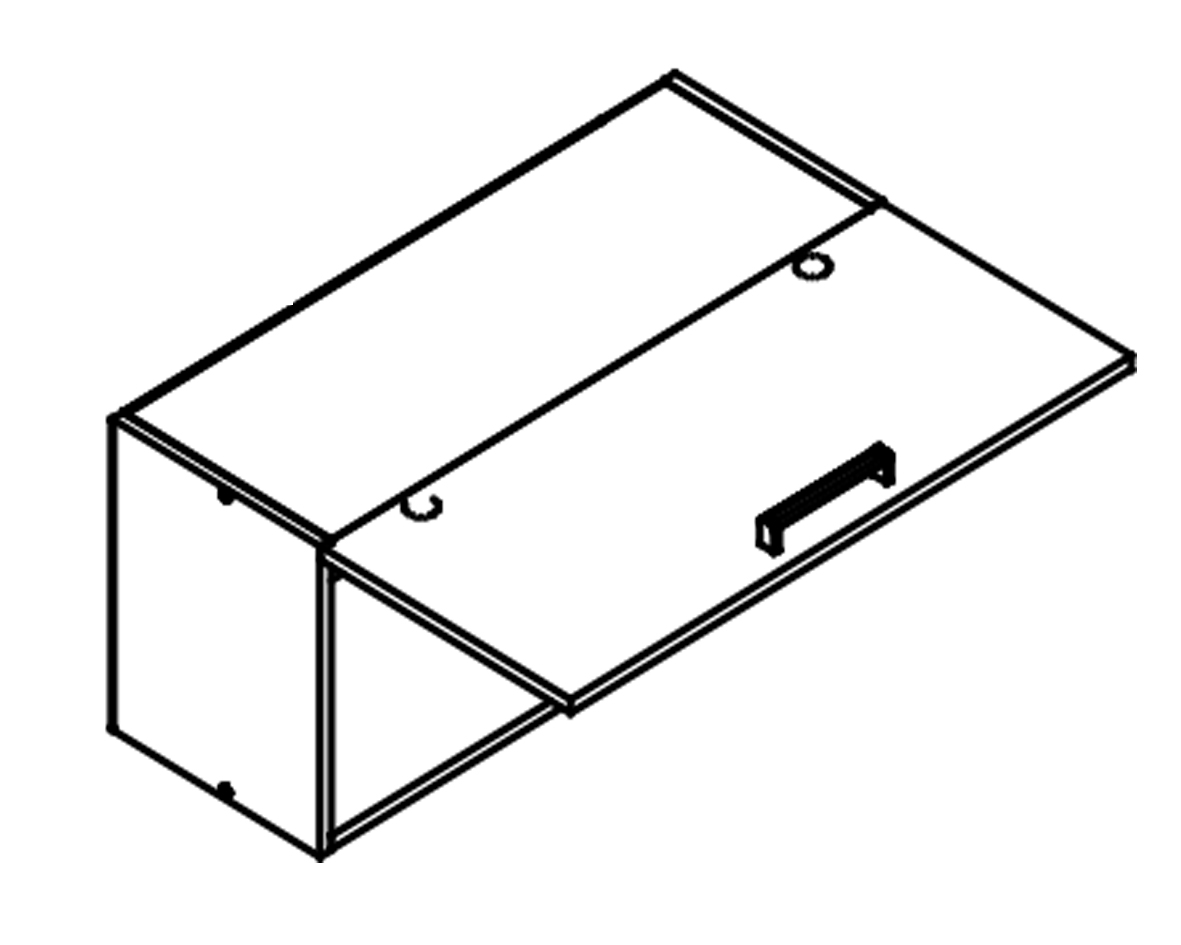 Body Diagram for Wall cabinet W80G1for Kitchen