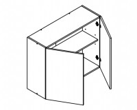 Body Diagram for Wall cabinet W90