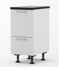 Milan - 300mm wide Rubbish Bin Base Cabinet