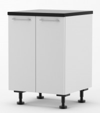 Milan - 600mm wide Double Door Base Cabinet