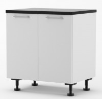 Milan - 800mm wide Double Door Base Cabinet