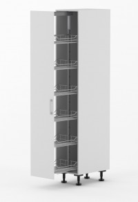 Milan - 300mm wide Pull Out Pantry Cabinet_1