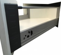 Euro High Corner Drawer Runner - Full Extension Image