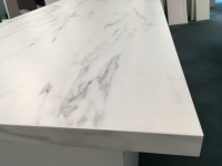 White Marble Standard Bench top Top View
