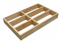 300mm wide Hollow Beechwood Cutlery Insert NV-SW1-14 for Drawers