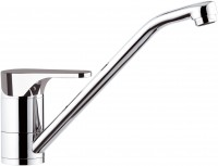 OMEGA - Single lever sink mixer with swivelling spout - Chrome