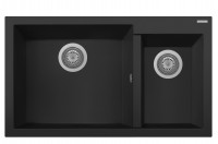 Cube 1.5 Bowl Black Matte Sink w/o Drainer ON8620