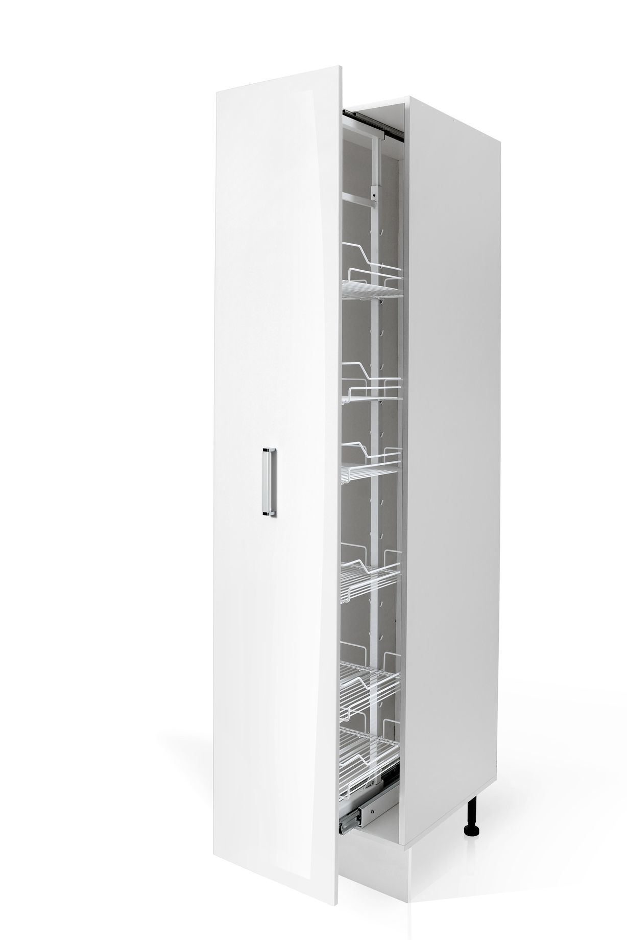 Euro Pull Out Pantry S40-C/222/60/2D Pulled Out for Kitchen