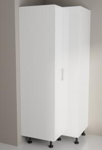 900mm/900mm Corner Pantry High Gloss White for Kitchen
