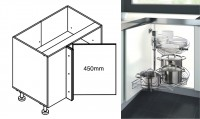 900mm Corner Cabinet with 180 Revo Basket Insert - for Kitchen