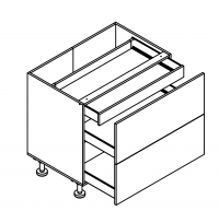 Body Outline for S90-1W-SZ2A for Kitchen Planning