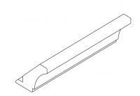 French Cornice 2700mm Wide and 98mm High