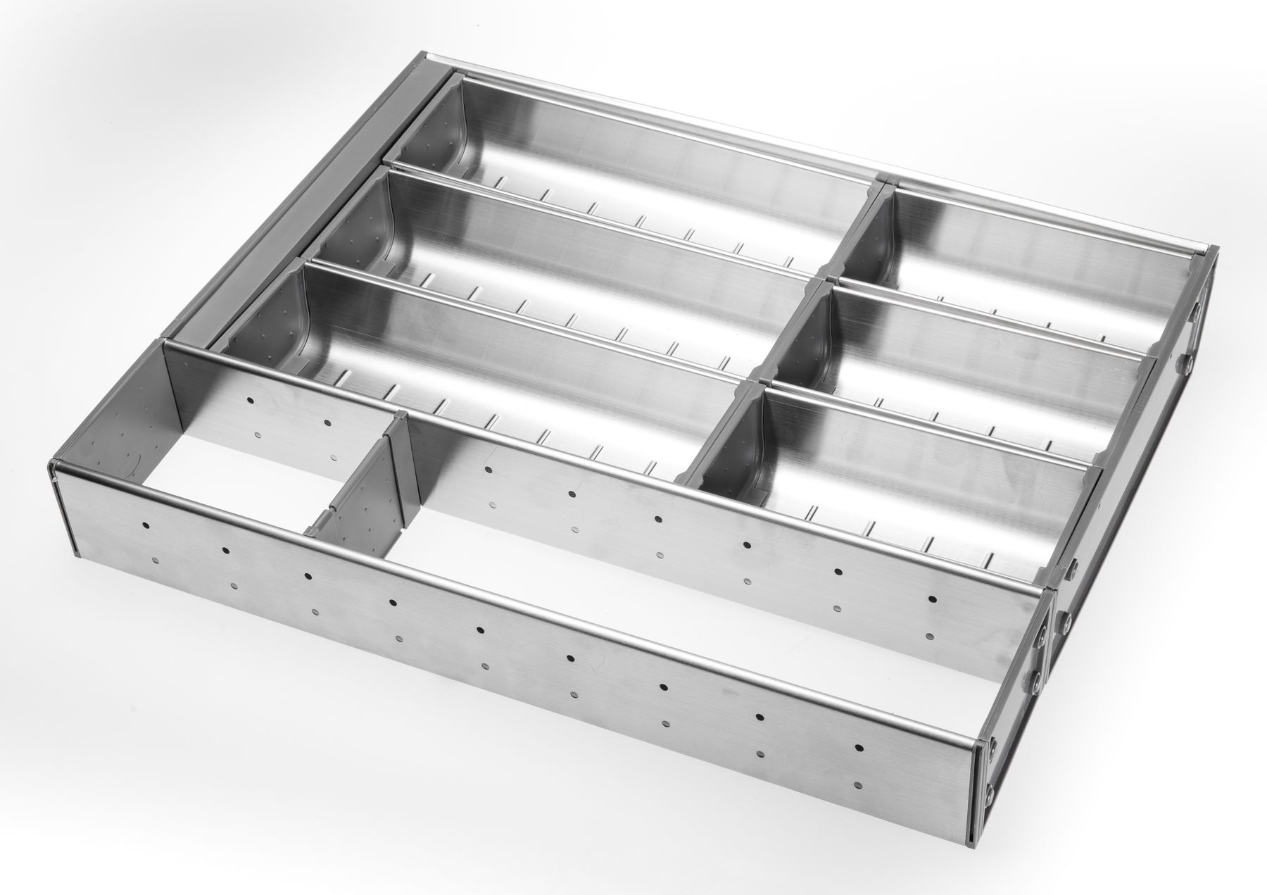 Stainless Steel Cutlery Insert for 450mm wide Drawer for Kitchen