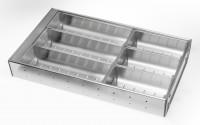 Stainless Steel Cutlery Insert for 400mm wide Drawer