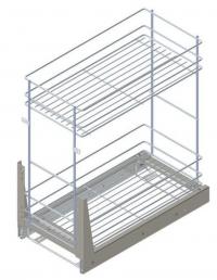 Internal Basket for 300/500mm Wide Base Cabinet for Kitche