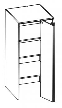 W60/132/TOP/60 Body Diagram