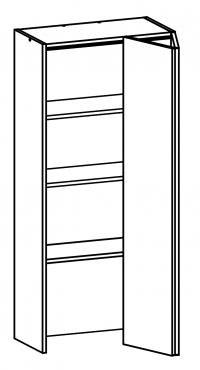 W60/132/TOP Body Diagram