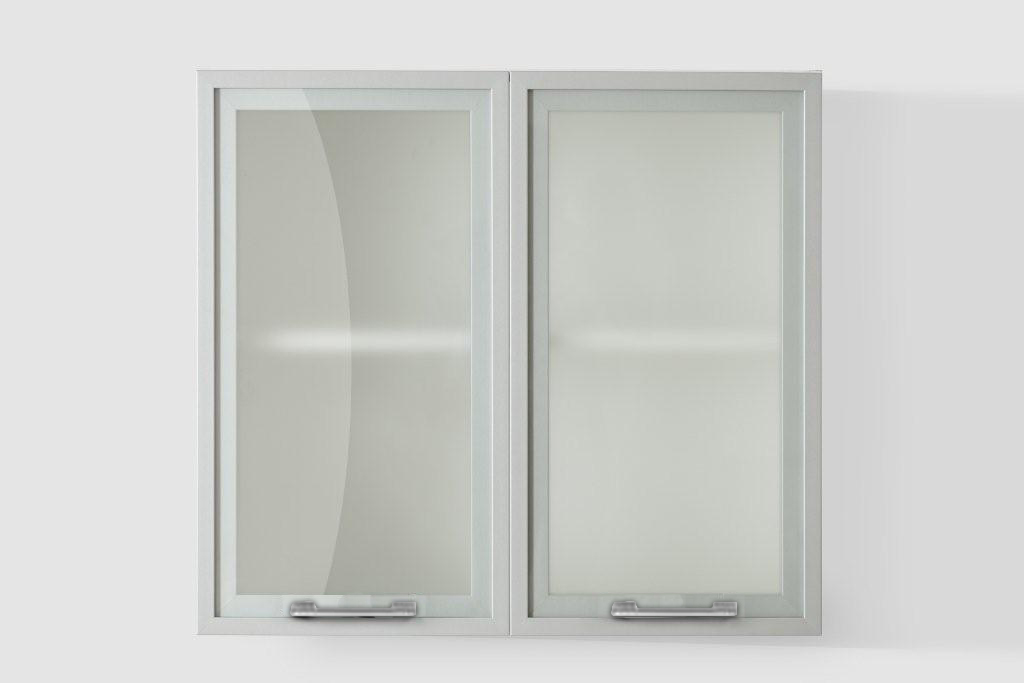 Silver Door Wall cabinet W80SA for Kitchen
