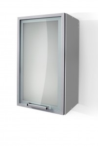 Silver Door Wall Cabinet W40SA for Kitchen
