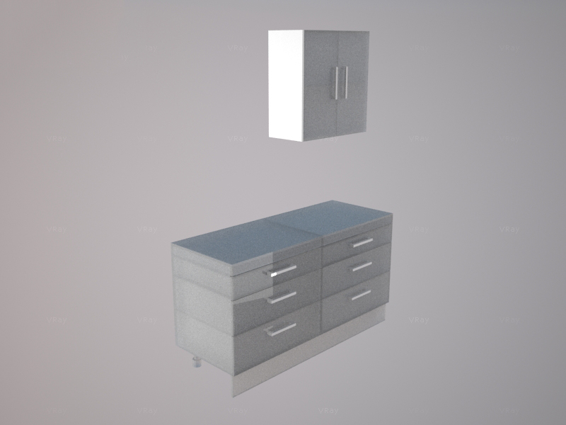 Wall end panel 720mm Tall for Kitchen