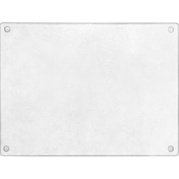 Clear Glass Chopping Board for in the Kitchen