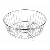 Metal Draining Basket for a Round Bowl Sink