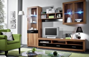 European Made Entertainment Unit Set Dora for Living Room