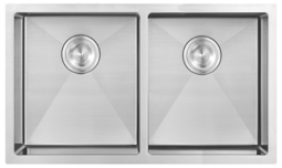 Undermount Stainless Steel Sink 2 Bowl - 953004 for Kitchen