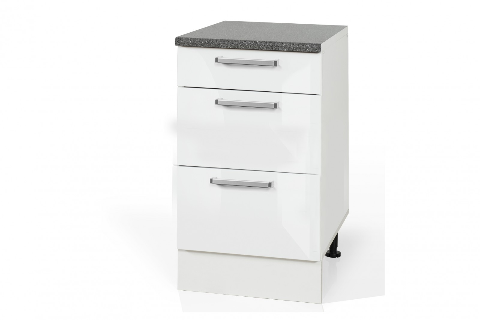 High Gloss White Base drawer cabinet S60SZ3 for kitchen