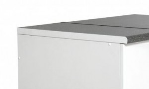 Aluminium Bench top End for Standard Bench tops in Kitchen